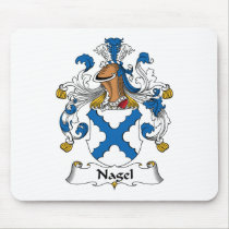 Nagel Family Crest Mousepad