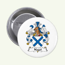 Nagel Family Crest Button
