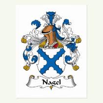 Nagel Family Crest Postcard