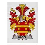 Nagel Family Crest Posters