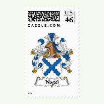 Nagel Family Crest Stamps