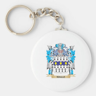 Nagle Coat of Arms - Family Crest Keychains