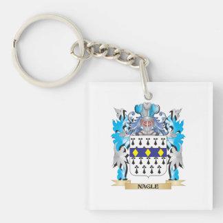 Nagle Coat of Arms - Family Crest Acrylic Keychain