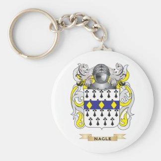 Nagle Coat of Arms (Family Crest) Keychain