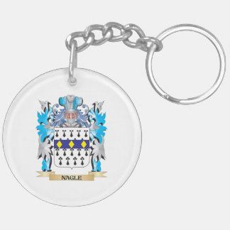 Nagle Coat of Arms - Family Crest Keychain