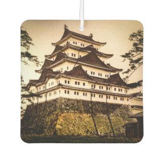 Nagoya Castle in Ancient Japan Vintage 名古屋城 Air Freshener