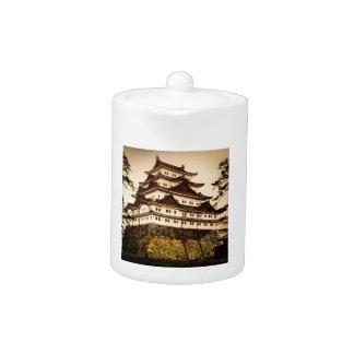 Nagoya Castle in Ancient Japan Vintage 名古屋城 Teapot