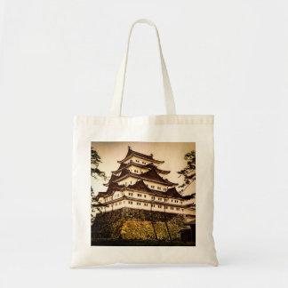 Nagoya Castle in Ancient Japan Vintage 名古屋城 Tote Bag