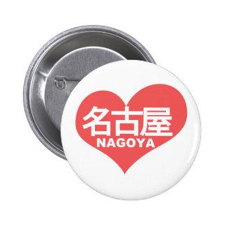 Nagoya Heart Pinback Button