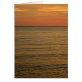 Nags Head After Sunset 5 x 7 Greeting Card
