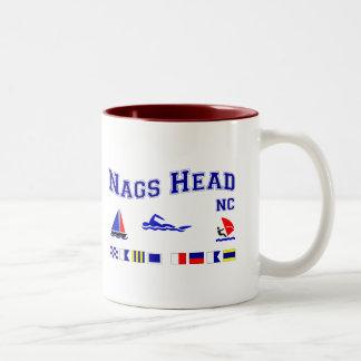 Nags Head NC Signal Flags Coffee Mug