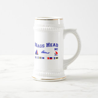 Nags Head NC Signal Flags Mugs