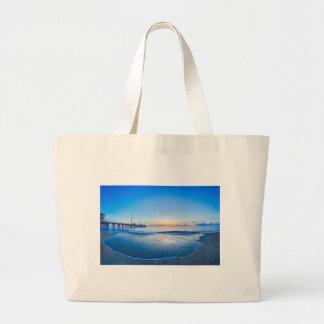 nags head north carolina sunrise large tote bag