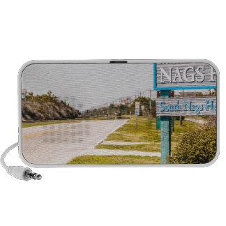 nags head north carolina town sign mini speaker