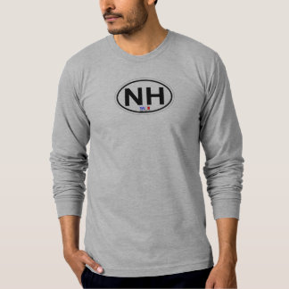 Nags Head Oval Design. T-Shirt