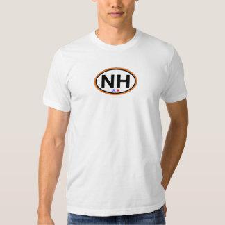 Nags Head Oval Design. T Shirt