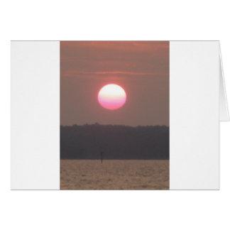 Nags Head sunset Card