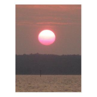 Nags Head sunset Postcard
