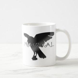 Nagual Crow Raven Coffee Mug