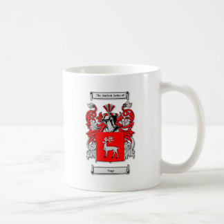 Nagy Coat of Arms Classic White Coffee Mug
