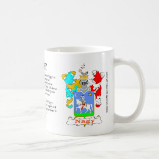Nagy Family Crest Mug
