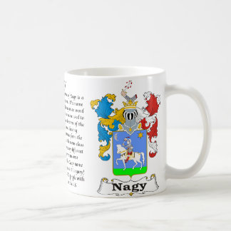 Nagy Family Hungarian Coat of Arms a mug