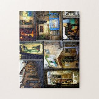 Nahala'ot encanta el collage del rompecabezas 01
