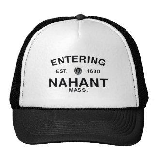 Nahant que entra gorra