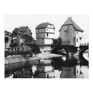 Nahe Bridge, Bad Kreuznach, c.1910 Postcard