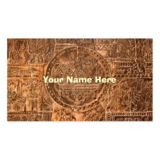 Nahuatl Business Card Template