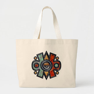 Nahui Ollin Large Tote Bag