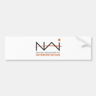NAI Logo Paraphernalia Bumper Sticker