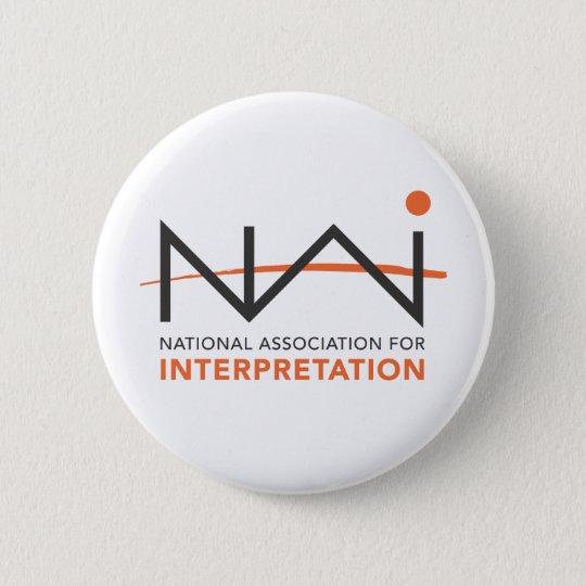 NAI Logo Paraphernalia Pinback Button