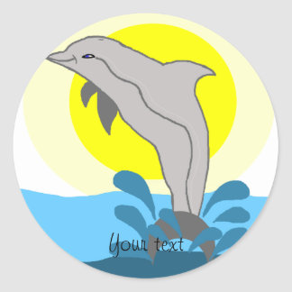 Nai'a Dolphin Stickers