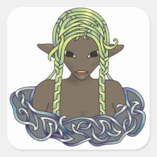 Naiad Square Sticker