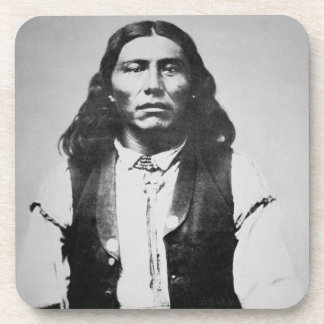 Naiche (d.1874) Chief of the Chiricahua Apaches of Beverage Coaster