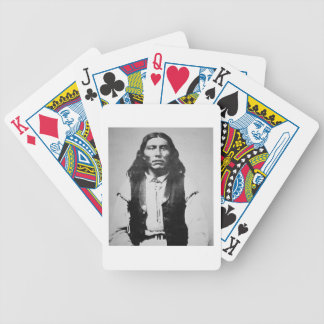 Naiche (d.1874) Chief of the Chiricahua Apaches of Bicycle Playing Cards