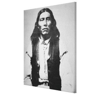 Naiche (d.1874) Chief of the Chiricahua Apaches of Canvas Print