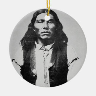 Naiche (d.1874) Chief of the Chiricahua Apaches of Ceramic Ornament