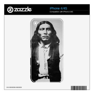 Naiche (d.1874) Chief of the Chiricahua Apaches of iPhone 4S Decal