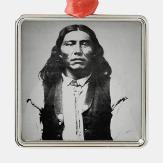 Naiche (d.1874) Chief of the Chiricahua Apaches of Metal Ornament