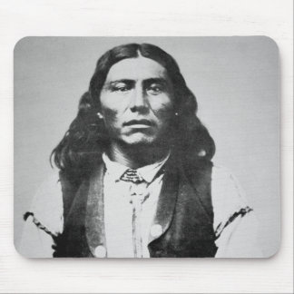 Naiche (d.1874) Chief of the Chiricahua Apaches of Mouse Pad
