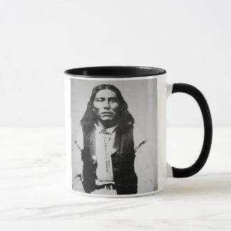 Naiche (d.1874) Chief of the Chiricahua Apaches of Mug