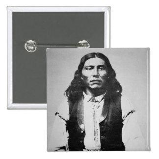 Naiche (d.1874) Chief of the Chiricahua Apaches of Pinback Button