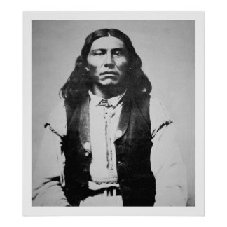 Naiche (d.1874) Chief of the Chiricahua Apaches of Poster