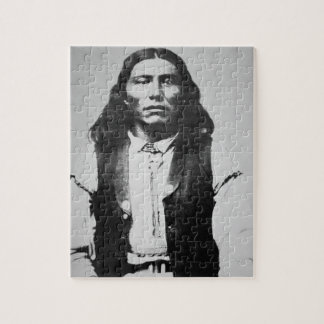 Naiche (d.1874) Chief of the Chiricahua Apaches of Jigsaw Puzzles