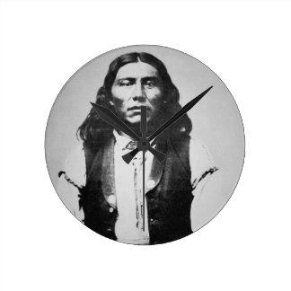 Naiche (d.1874) Chief of the Chiricahua Apaches of Round Clock