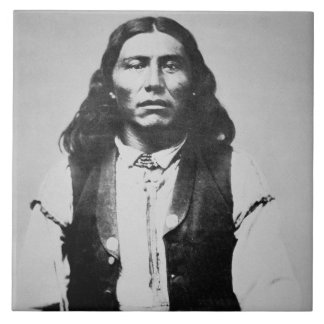 Naiche (d.1874) Chief of the Chiricahua Apaches of Tile