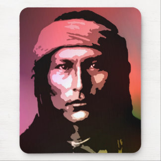 Naichez - Chiricahua Apache Mouse Pad