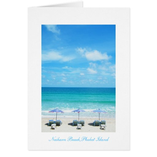 Naiharn Beach,Phuket Island Greeting Card